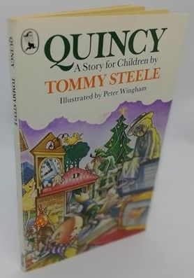 Tommy Steele QUINCY Signed Paperback