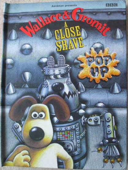 WALLACE & GROMIT A CLOSE SHAVE Pop Up Activity Book
