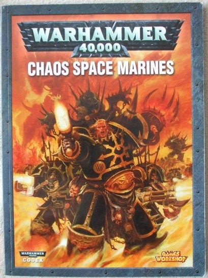 Warhammer 40,000 CODEX CHAOS SPACE MARINES Paperback