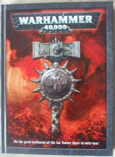 WARHAMMER 40000 5TH EDITION CORE RULEBOOK Hardback 2008