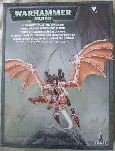 Warhammer 40K 40000 TYRANID HIVE TYRANT SWARMLORD Sealed