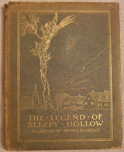 Washington Irving THE LEGEND OF SLEEPY HOLLOW Leather Edition Arthur Rackham