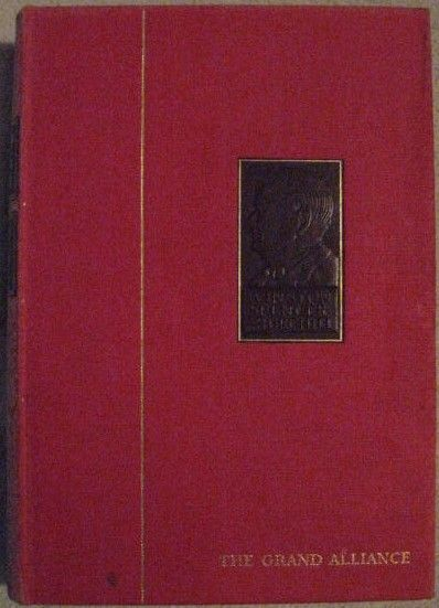 Winston Churchill THE SECOND WORLD WAR VOLUME 3 THE GRAND ALLIANCE Chartwell Edition